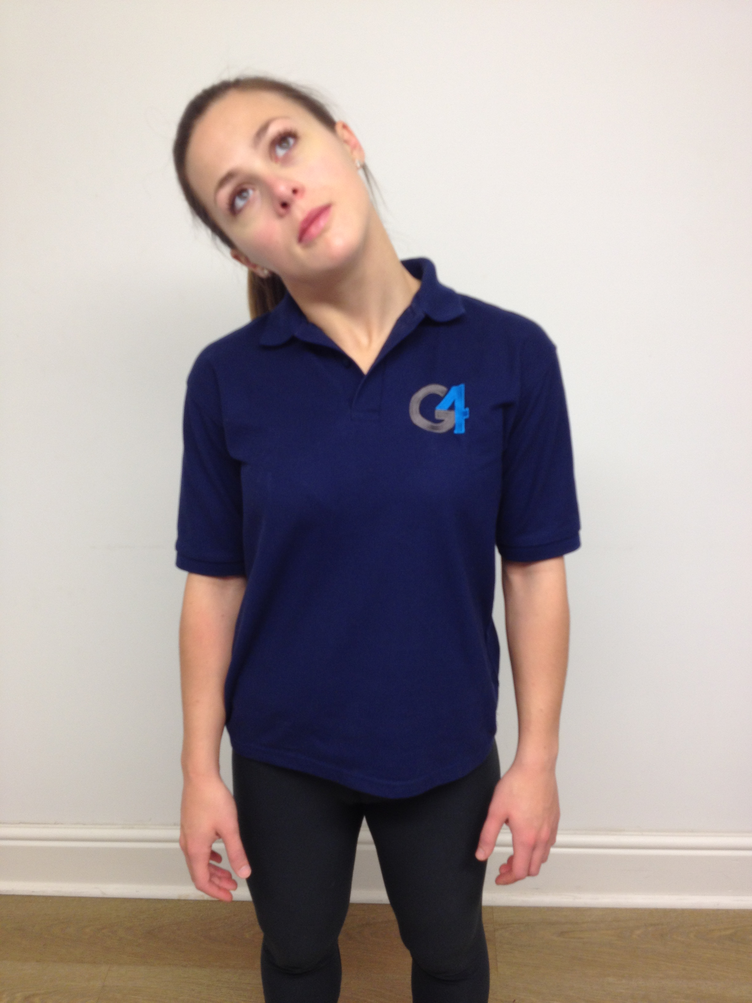 Neck Stretch Side Flexion G4 Physiotherapy Amp Fitness