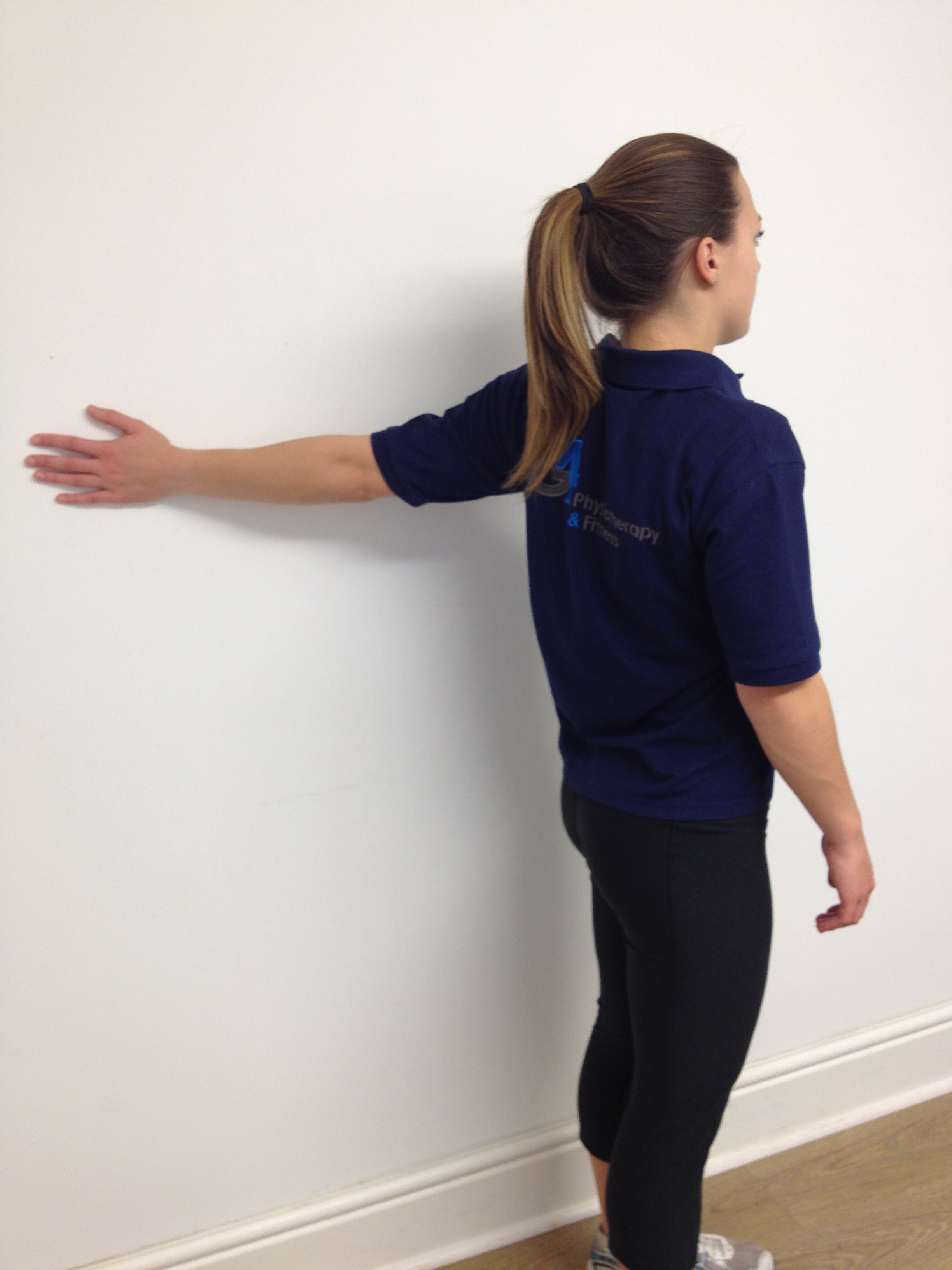 Anterior Shoulder Amp Chest Stretch G4 Physiotherapy Amp Fitness