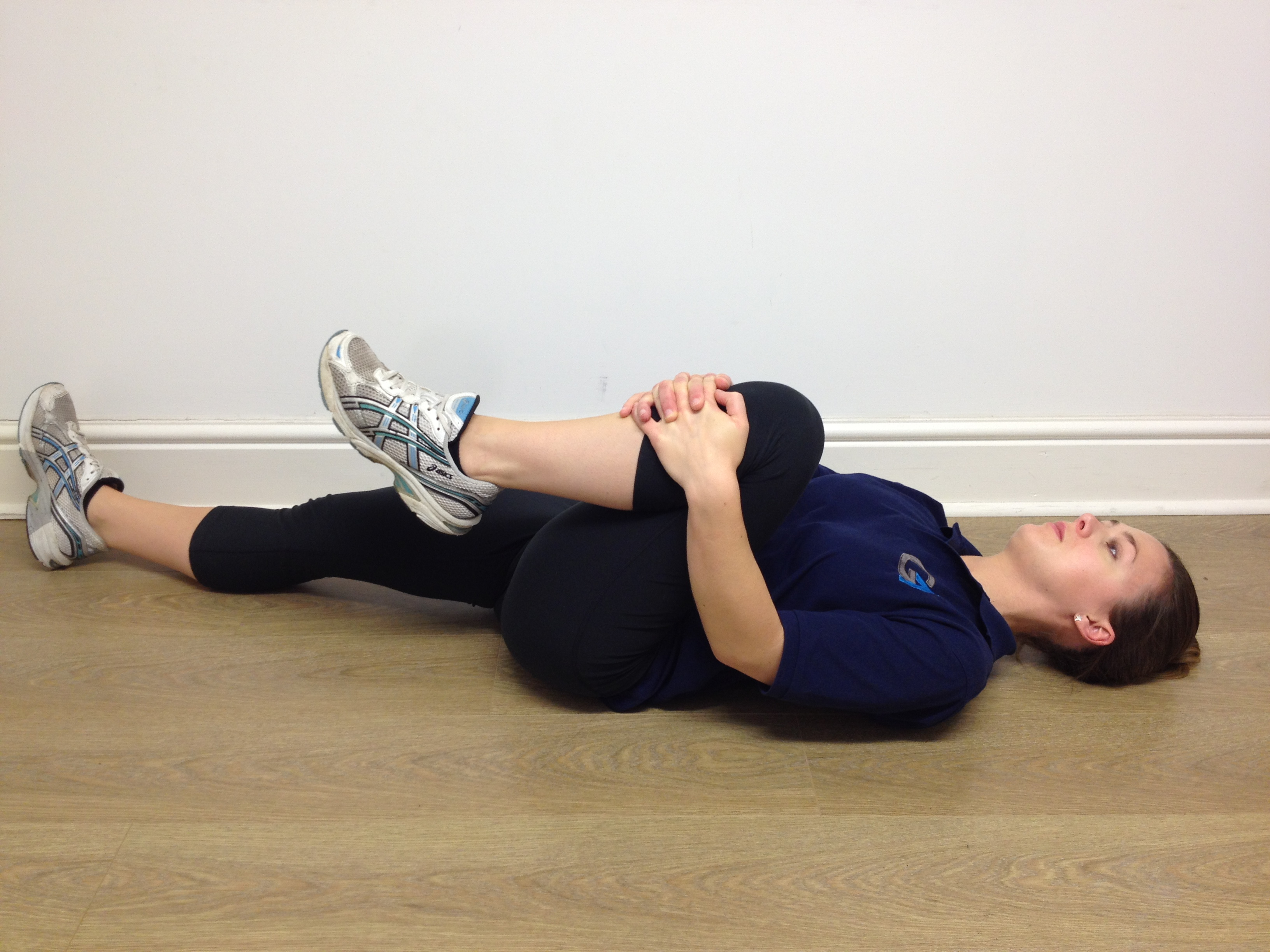 unilateral hip flexion stretch