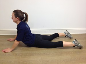 lower back extension stretch lying  g4 physiotherapy
