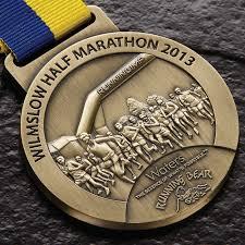 wilmslow half medal