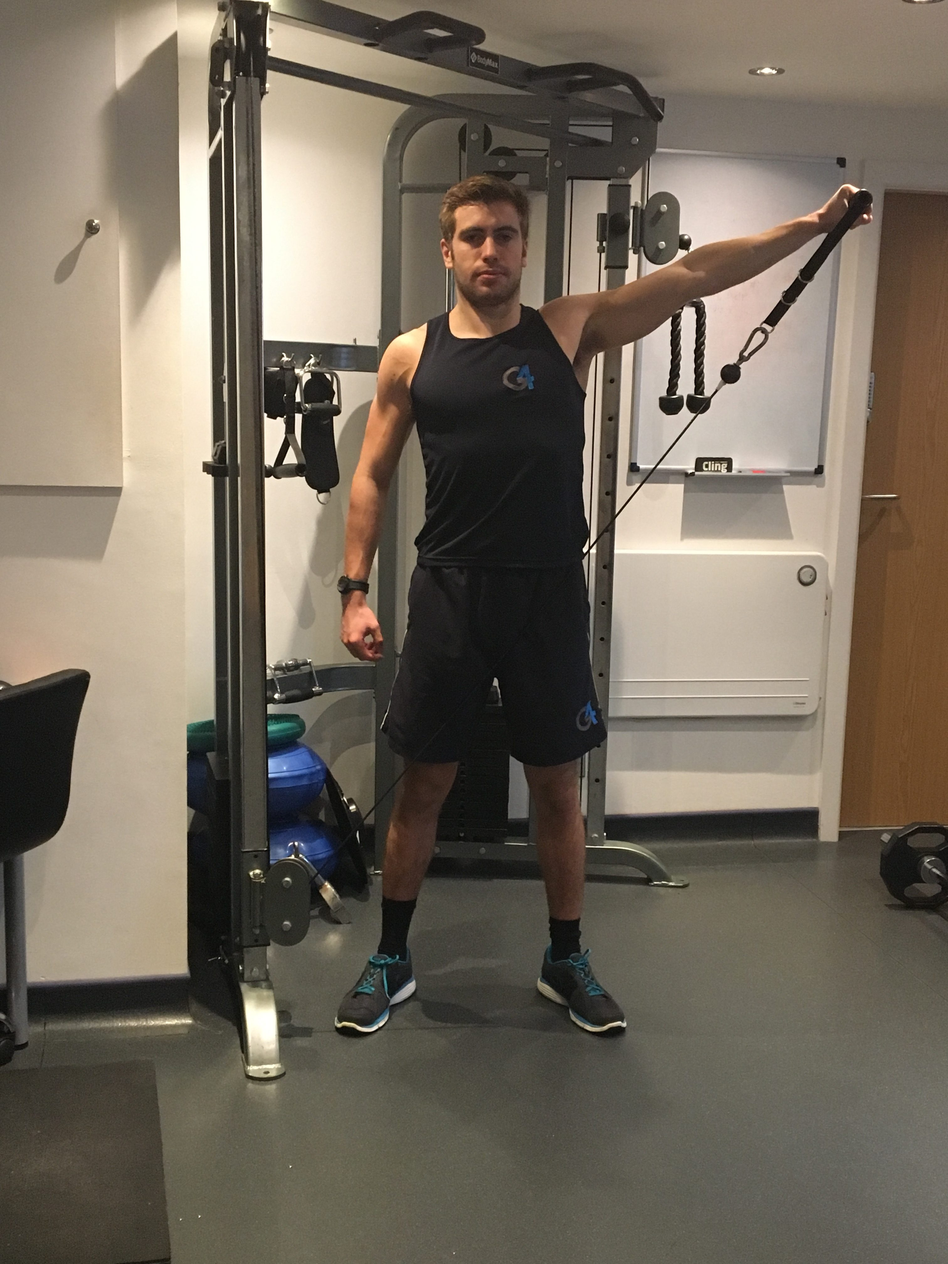 Lateral Raise G4 Physiotherapy Amp Fitness