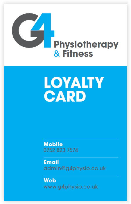 G4 Loyalty card